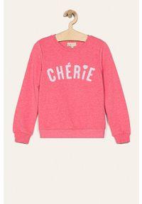 Różowa bluza Kids Only na co dzień, casualowa, bez kaptura