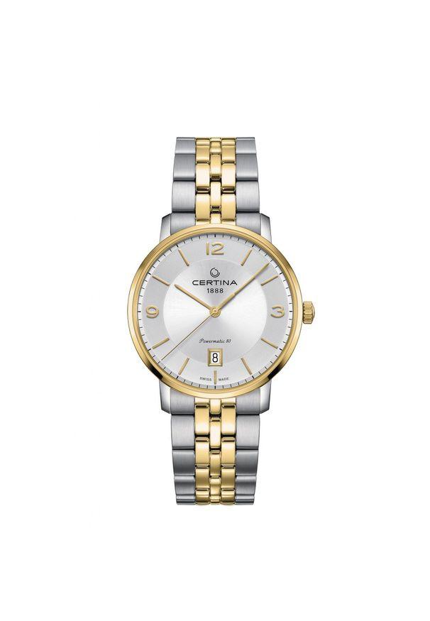 Złoty zegarek CERTINA klasyczny