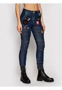 Niebieskie jeansy Aeronautica Militare