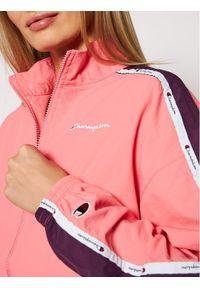 Różowa kurtka przejściowa Champion