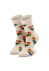 Białe skarpetki Happy-Socks