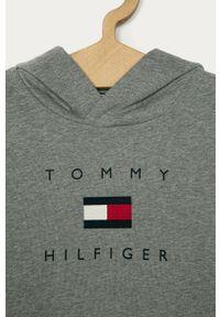 Szara bluza TOMMY HILFIGER casualowa, na co dzień