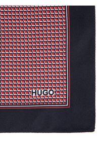 Czerwona poszetka Hugo
