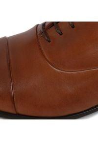 Lasocki For Men - Półbuty LASOCKI FOR MEN - MI08-C770-768-02 Brown. Kolor: brązowy. Materiał: skóra. Szerokość cholewki: normalna. Styl: wizytowy, klasyczny