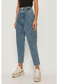 Niebieskie jeansy loose fit Tommy Jeans z podwyższonym stanem