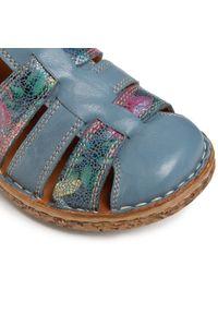 Niebieskie sandały Comfortabel