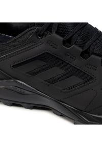 Czarne buty do biegania Adidas Gore-Tex, z cholewką, Adidas Terrex