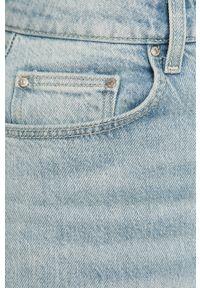 Niebieskie jeansy bootcut TALLY WEIJL gładkie