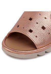 Złote sandały The FLEXX casualowe, na co dzień