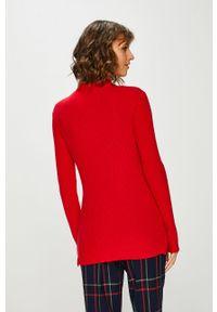 Czerwony sweter medicine casualowy, na co dzień