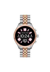 Srebrny zegarek Michael Kors smartwatch