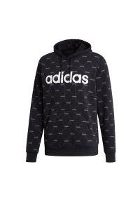 Bluza z kapturem Adidas na co dzień, z długim rękawem, długa