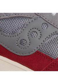 Szare buty sportowe Saucony z cholewką