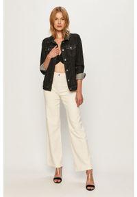 Kremowe jeansy bootcut TALLY WEIJL z podwyższonym stanem