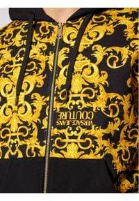 Versace Jeans Couture Bluza B7GWA7F0 Czarny Regular Fit. Kolor: czarny