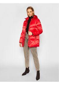 Czerwona kurtka zimowa EA7 Emporio Armani