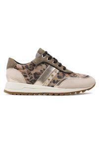 Geox Sneakersy D Tabelya D02AQA 0072 C3228 Brązowy. Kolor: brązowy