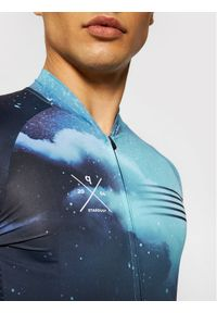 Quest Koszulka rowerowa Stardust Granatowy Slim Fit. Kolor: niebieski