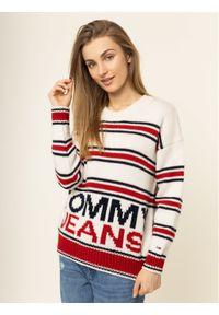 Beżowy sweter klasyczny Tommy Jeans