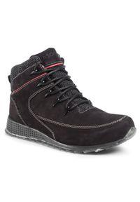Czarne buty zimowe Lasocki For Men eleganckie