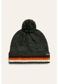 Szara czapka Tom Tailor Denim
