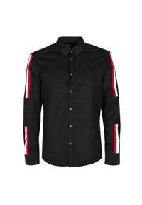 Les Hommes Koszula. Materiał: tkanina. Długość rękawa: długi rękaw. Długość: długie