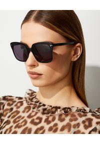 Tom Ford - TOM FORD - Okulary przeciwsłoneczne Faye. Kolor: czarny
