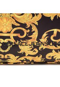 Versace Jeans Couture - Torebka VERSACE JEANS COUTURE - E1VWABTD 71885 M27. Kolor: czarny, wielokolorowy, złoty. Styl: elegancki, klasyczny, casual