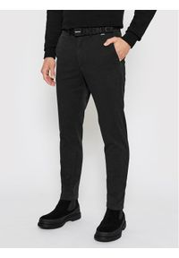 Calvin Klein Chinosy K10K106894 Czarny Slim Fit. Kolor: czarny
