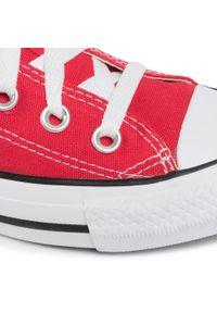 Czerwone buty sportowe Converse z cholewką, Converse All Star
