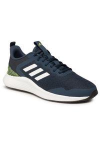 Niebieskie buty do biegania Adidas