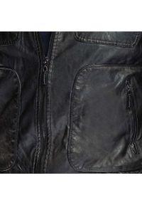 Czarna kurtka Wittchen ze stójką, klasyczna