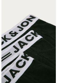 Czarne majtki Jack & Jones gładkie