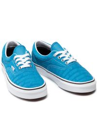 Tenisówki VANS - Era VN0A4U39X041 (Vans Emboss) Mdtrnbltrwht. Kolor: niebieski. Materiał: zamsz, skóra. Szerokość cholewki: normalna. Model: Vans Era