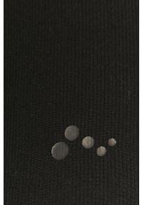 Only Play - Legginsy. Stan: podwyższony. Kolor: czarny. Materiał: dzianina, elastan, poliamid. Wzór: gładki #2