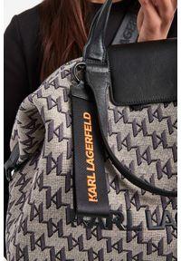 Karl Lagerfeld - TOREBKA KARL LAGERFELD. Wzór: haft, nadruk. Dodatki: z haftem