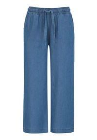 Soyaconcept Spodnie do kostki z dodatkiem włókien lyocellu Liv denim blue female niebieski S (38). Kolor: niebieski. Materiał: włókno, denim