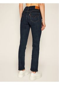 Levi's® Jeansy Slim Fit 712™ 18884-0215 Granatowy Slim Fit. Kolor: niebieski. Materiał: jeans