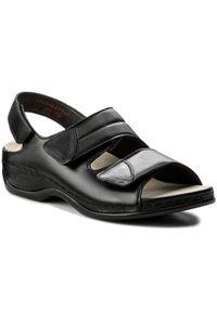 Czarne sandały Berkemann