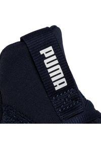 Niebieskie buty treningowe Puma z cholewką