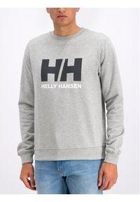 Helly Hansen Bluza Hh Logo Crew 34000 Szary Regular Fit. Kolor: szary