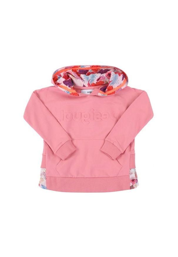 Różowa bluza Desigual