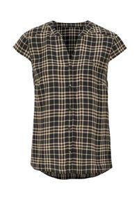 Cellbes Bluzka w kratkę female ze wzorem 34/36. Typ kołnierza: kołnierzyk stójkowy. Wzór: kratka. Styl: elegancki
