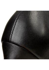 Czarne szpilki HÖGL eleganckie, na średnim obcasie