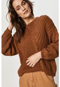 Sweter Answear Lab długi, z długim rękawem, wakacyjny
