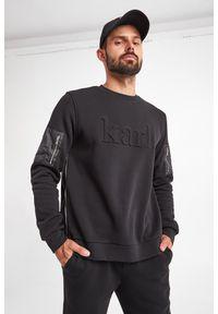 Karl Lagerfeld - BLUZA KARL LAGERFELD. Wzór: napisy