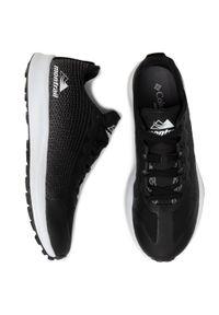 Czarne buty do biegania columbia z cholewką