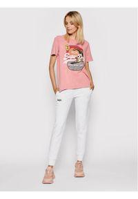 Superdry Spodnie dresowe Orange Label W7010223A Szary Regular Fit. Kolor: szary. Materiał: dresówka