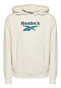 Reebok Classic - Reebok Bluza Classics Foundation Vector GS9147 Szary Oversize. Kolor: szary