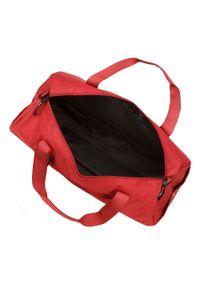 Wittchen - Torba podróżna basic duża. Kolor: czerwony. Materiał: poliester. Styl: sportowy, elegancki